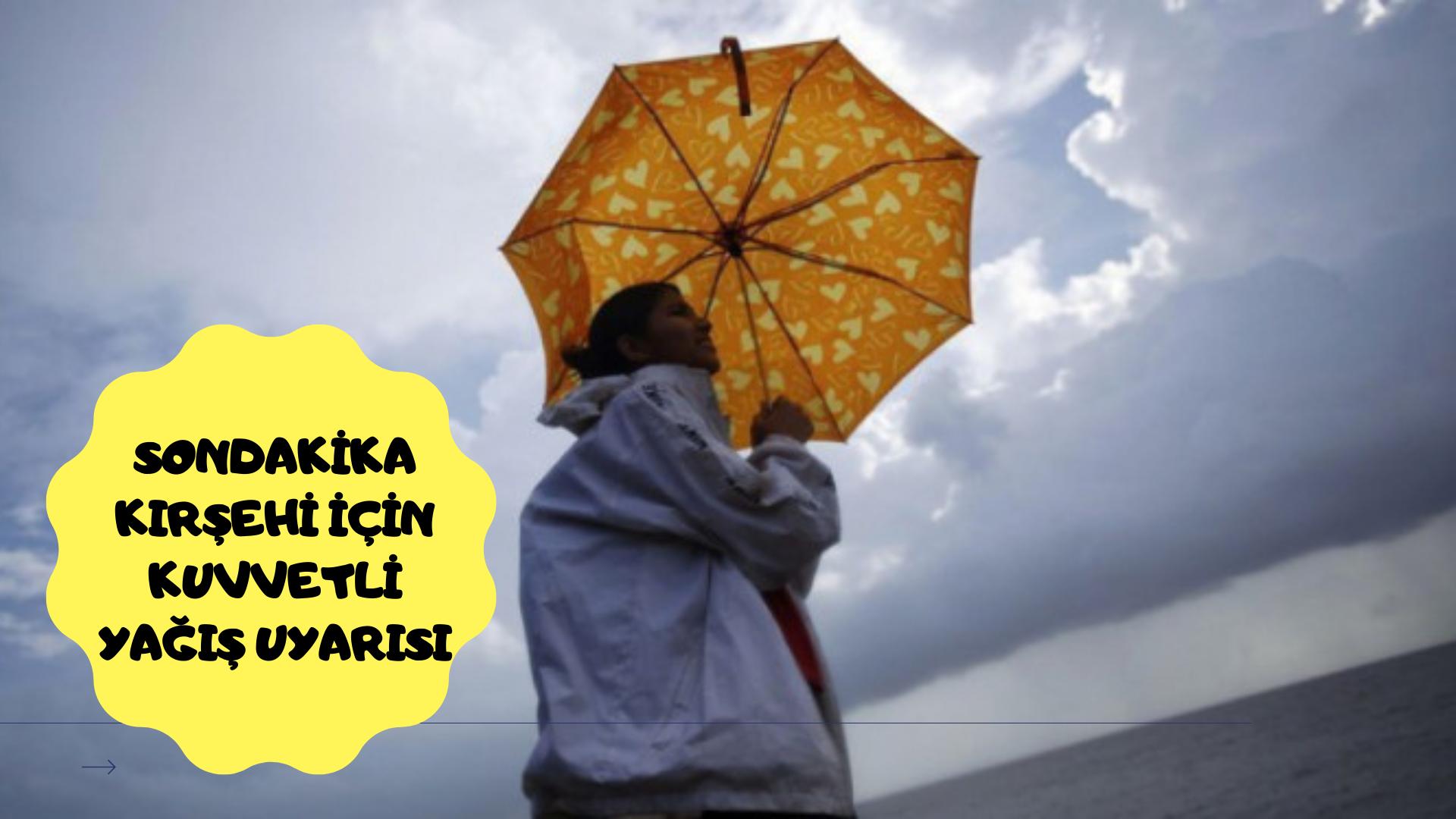 Valilik uyardı: Yarın kuvvetli yağış geliyor