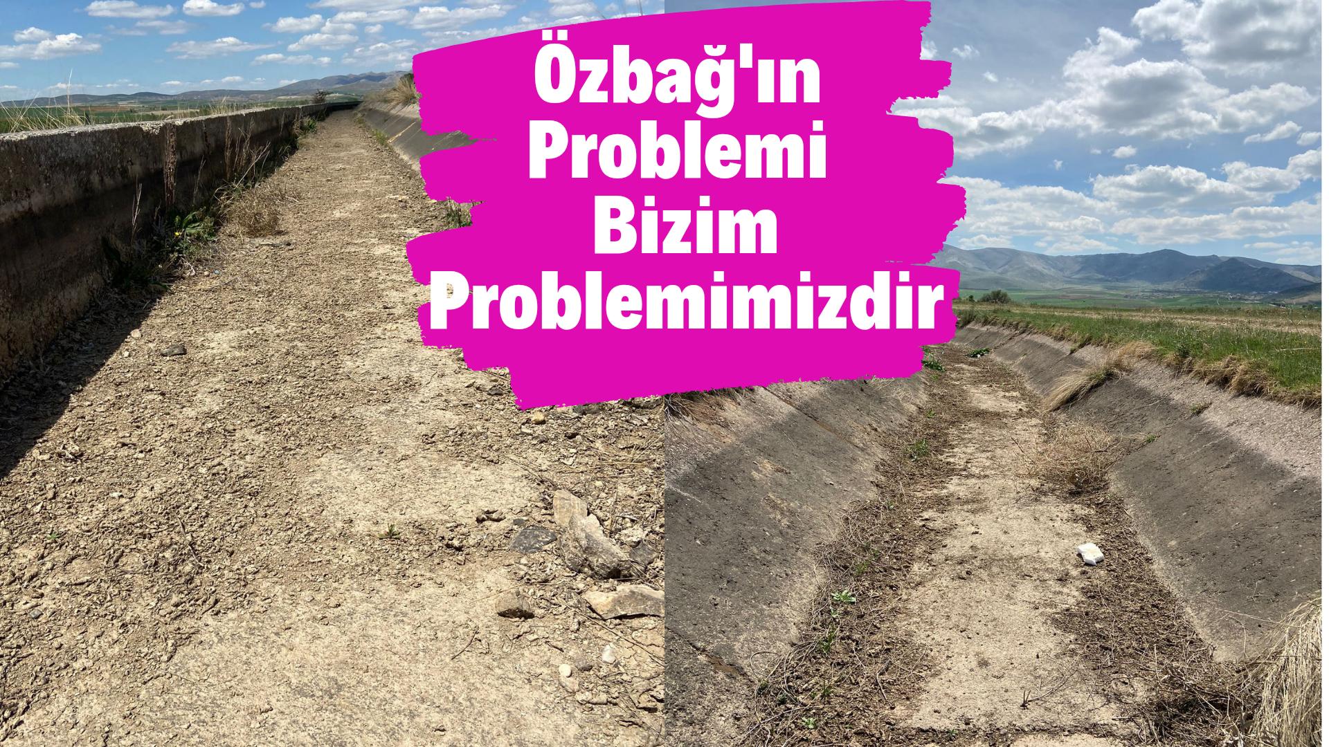 Kırşehir'de tarımın merkezi su bekliyor
