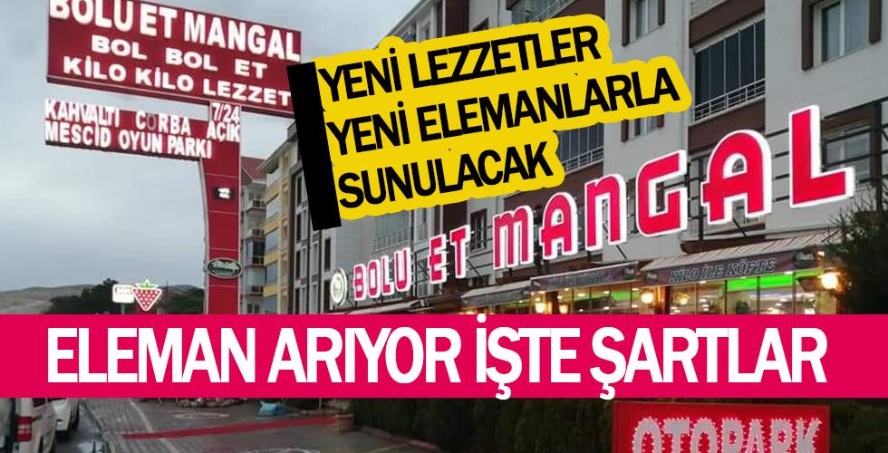 Bolu Et Mangal Kırşehir, çalışma arkadaşları arıyor