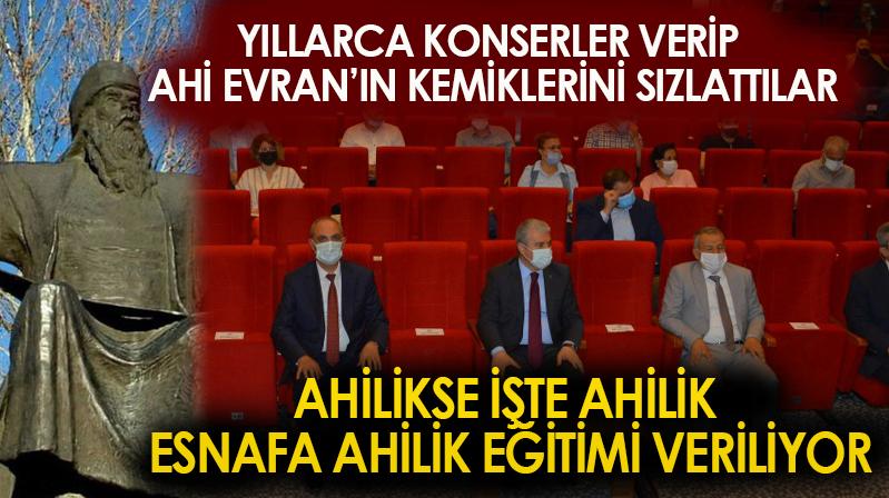 Üniversitemizden Kırşehir Esnafına Sertifikalı Ahilik Eğitimi