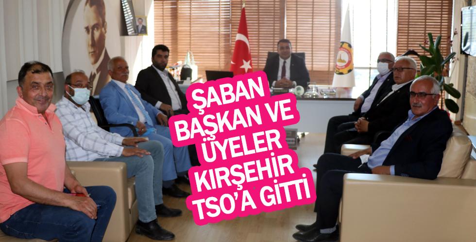 İL Genel Meclis Başkanı Çelik ve üyelerinden TSO'ya ziyaret