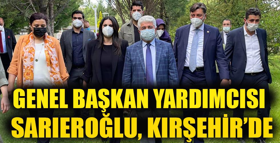 Jülide Sarıeroğlu,Kırşehir'deydi