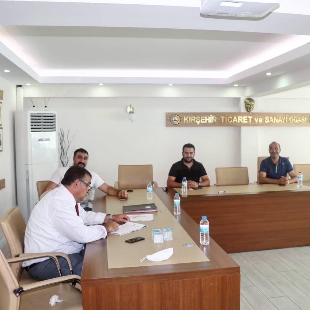 Kırşehir TSO Yönetim Kurulu Toplantısı yapıldı