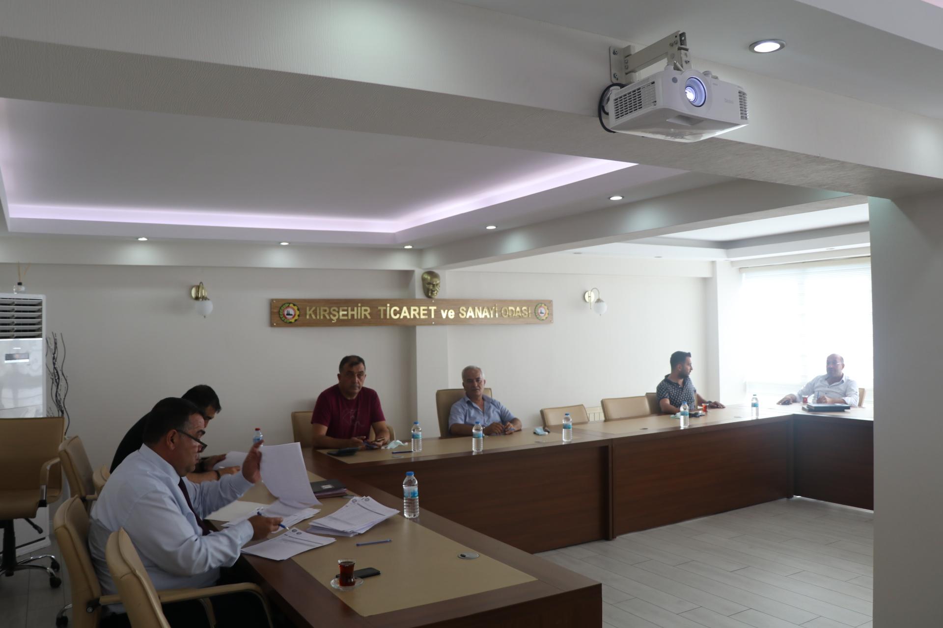 TSO'nun Haftalık Yönetim Kurulu Toplandı