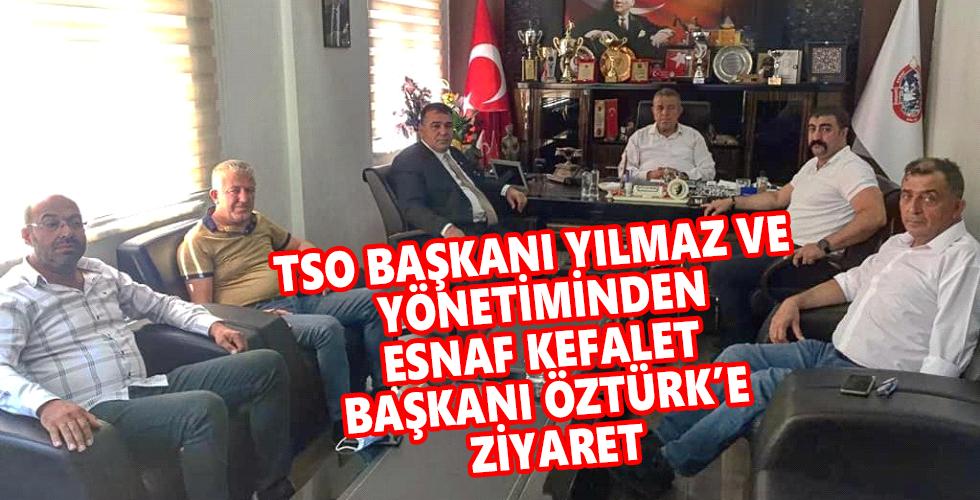 Kırşehir TSO'dan Başkan Öztürk'e ziyaret