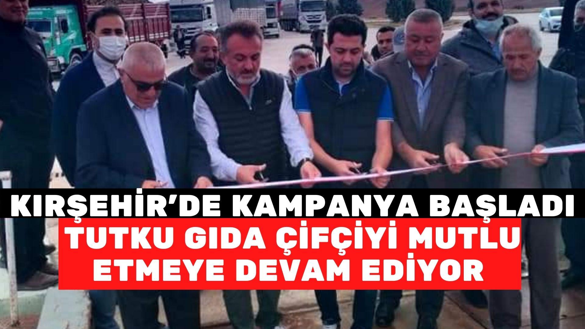 Kırşehir'de şeker kampanyası başladı