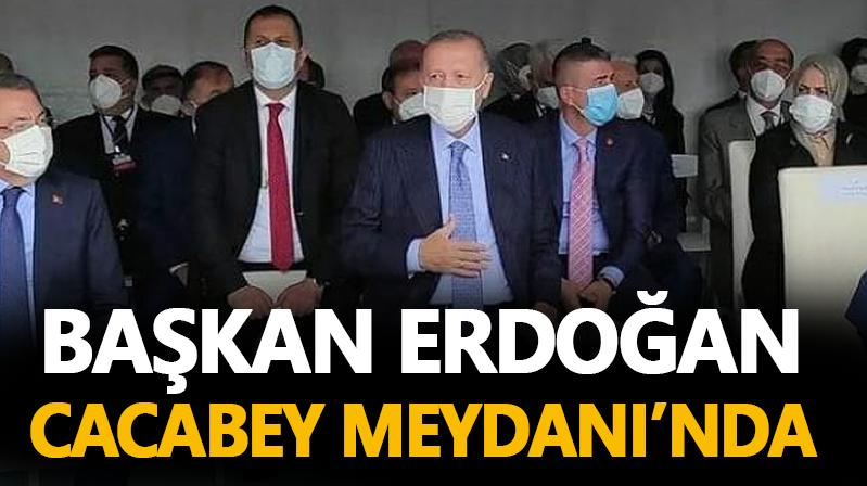 Cumhurbaşkanı Erdoğan Kırşehir'e geldi