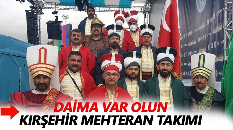 Kırşehir'in sevilen takımı: Mehteran