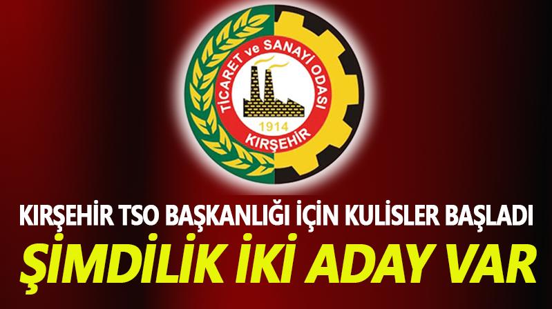 Kırşehir TSO kulisleri başladı