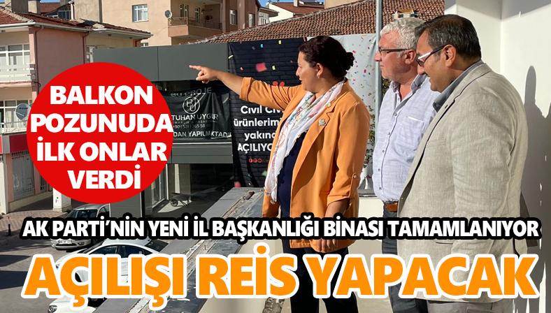 AK Parti Kırşehir İl Başkanı yeni binasına kavuşuyor