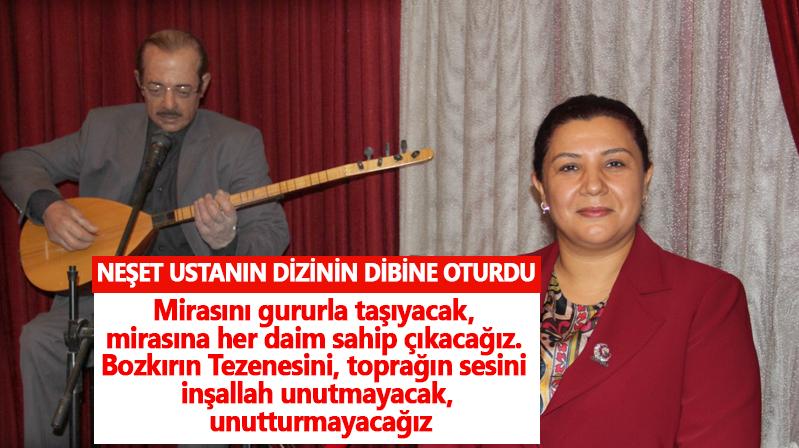 AK Parti Kırşehir İl Başkanı Ünsal'ın Neşet Ertaş Anma mesajı