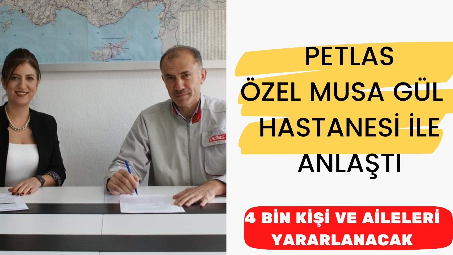 Petlas Özel Musa Gül Hastanesi ile anlaştı